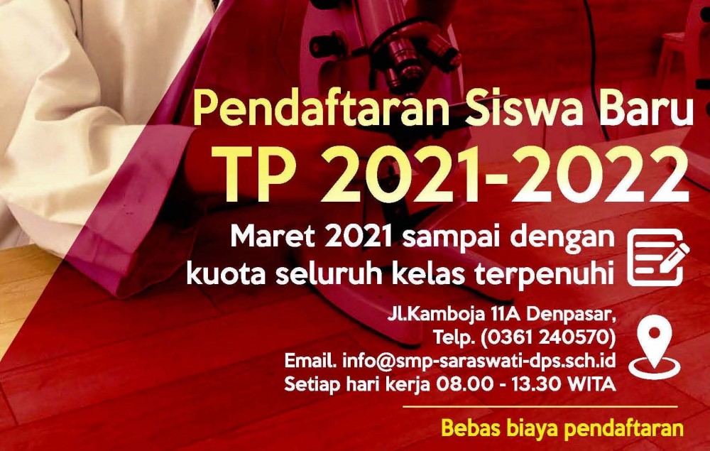 Informasi Pendaftaran Siswa Baru TP 2021-2022