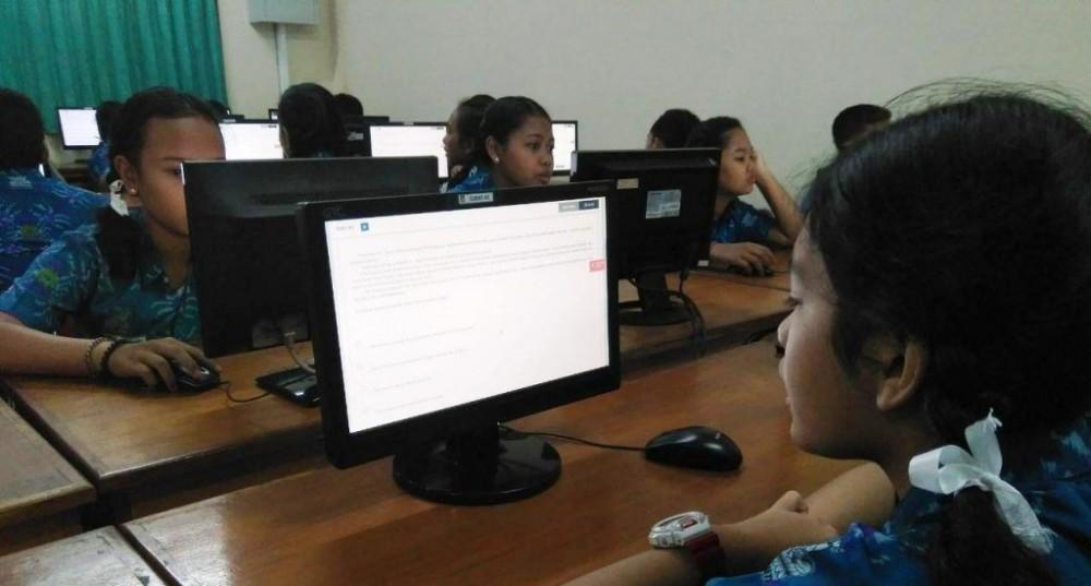 Awali UNBK dengan Try Out Berbasis Komputer