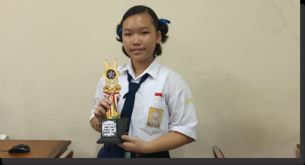 Angely Panadevi, Juara I Kana Contest Ingin Bahasa Jepang Jadi Icon SLUB